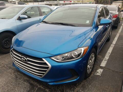 2018 Hyundai Elantra for sale at Castle Used Cars in Jacksonville FL