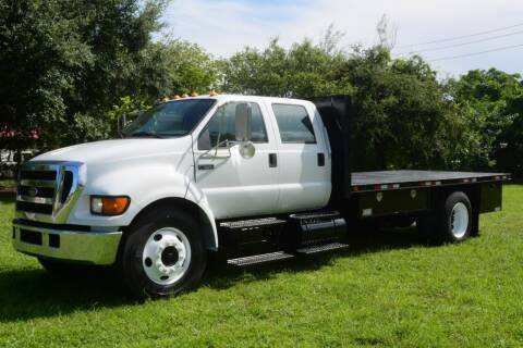 2005 Ford F-650 Super Duty for sale at American Trucks and Equipment in Hollywood FL