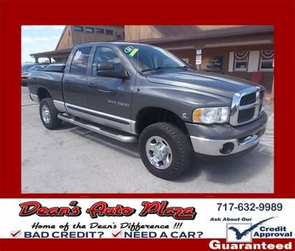 2004 Dodge Ram Pickup 2500 for sale at Dean's Auto Plaza in Hanover PA