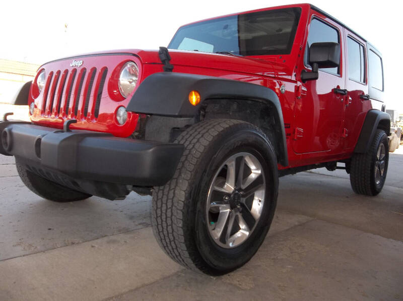2017 Jeep Wrangler Unlimited for sale at Broken Arrow Motor Co in Broken Arrow OK