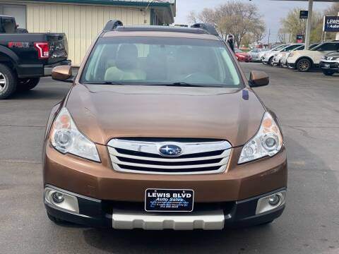 2011 Subaru Outback for sale at Lewis Blvd Auto Sales in Sioux City IA