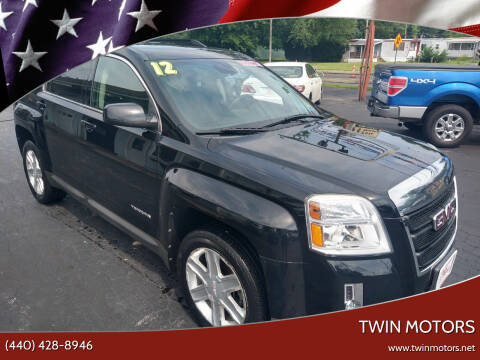 2012 GMC Terrain for sale at TWIN MOTORS in Madison OH