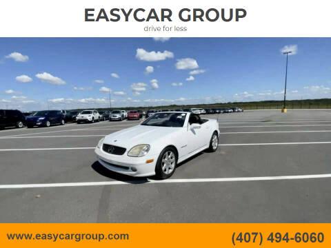2001 Mercedes-Benz SLK for sale at EASYCAR GROUP in Orlando FL