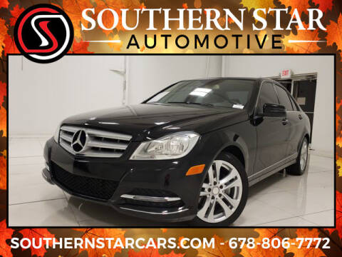 2013 Mercedes-Benz C-Class for sale at Southern Star Automotive, Inc. in Duluth GA