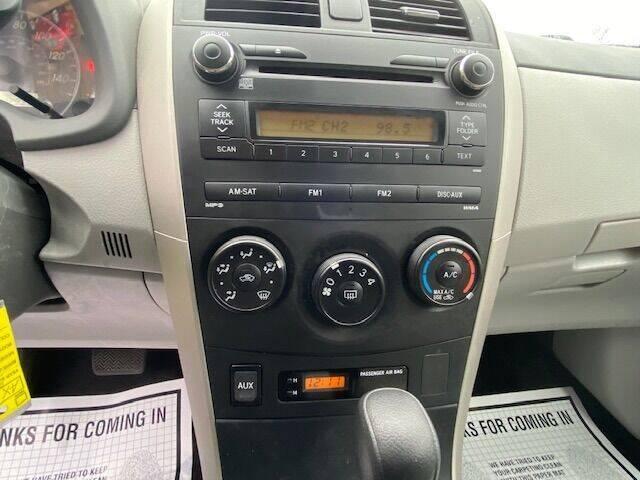2010 Toyota Corolla LE 4dr Sedan 4A - Hudson NH