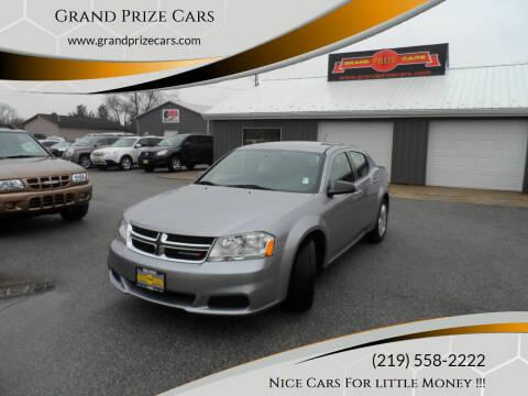 2014 Dodge Avenger for sale at Grand Prize Cars in Cedar Lake IN