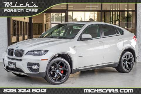 2012 BMW X6 for sale at Mich's Foreign Cars in Hickory NC