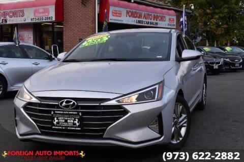 2019 Hyundai Elantra for sale at www.onlycarsnj.net in Irvington NJ
