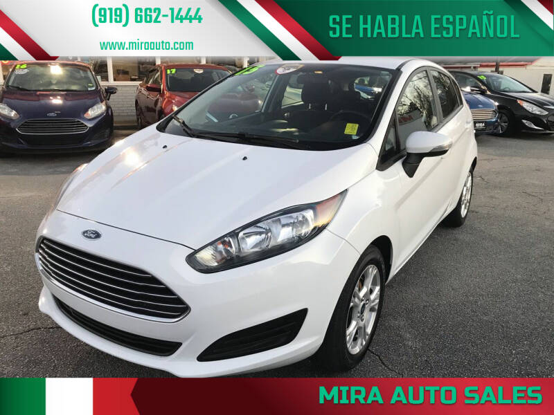 2015 Ford Fiesta for sale at Mira Auto Sales in Raleigh NC