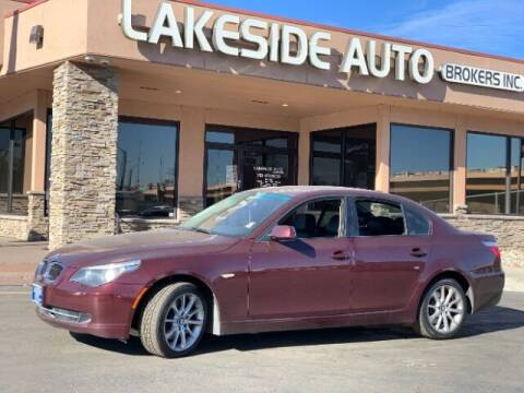 2008 BMW 5 Series for sale at Lakeside Auto Brokers in Colorado Springs CO