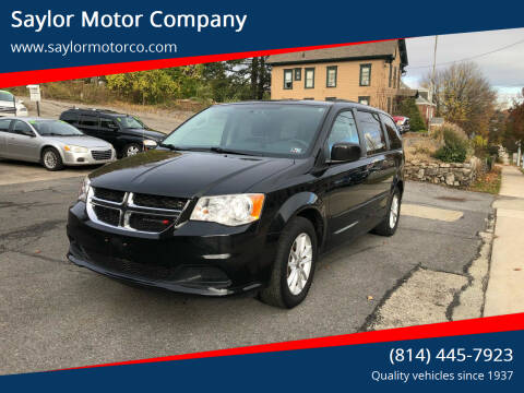2014 Dodge Grand Caravan for sale at Saylor Motor Company in Somerset PA