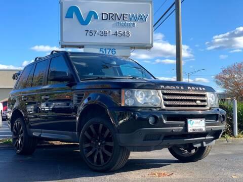 2007 Land Rover Range Rover Sport for sale at Driveway Motors in Virginia Beach VA