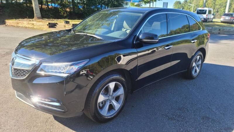 2016 Acura MDX for sale at AMG Automotive Group in Cumming GA
