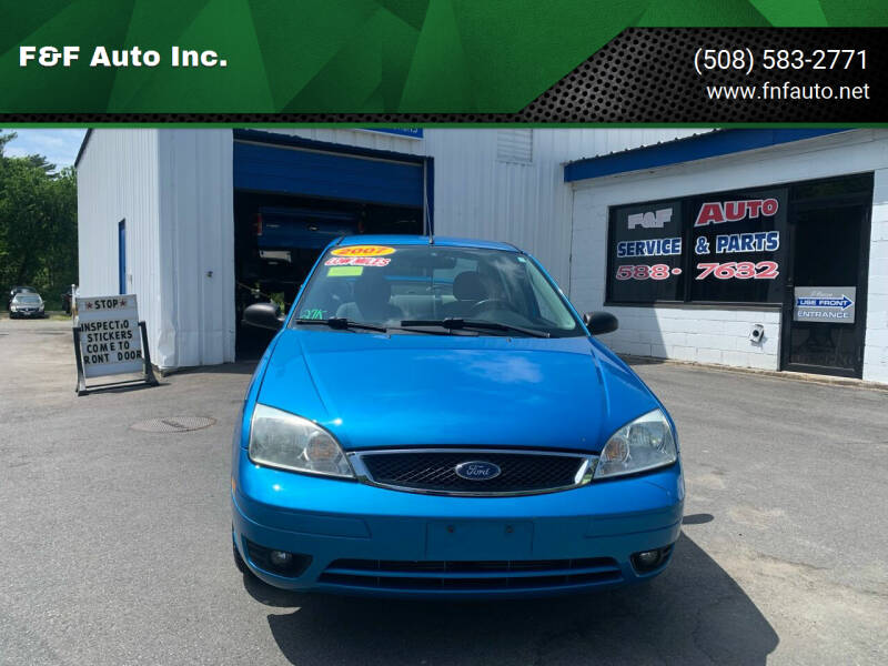 2007 Ford Focus for sale at F&F Auto Inc. in West Bridgewater MA