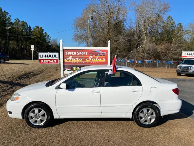 2008 Toyota Corolla for sale at Super Sport Auto Sales in Hope Mills NC