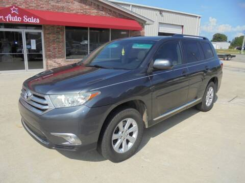 2012 Toyota Highlander for sale at US PAWN AND LOAN in Austin AR