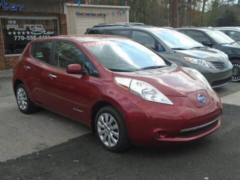 2015 Nissan LEAF for sale at AutoStar Norcross in Norcross GA