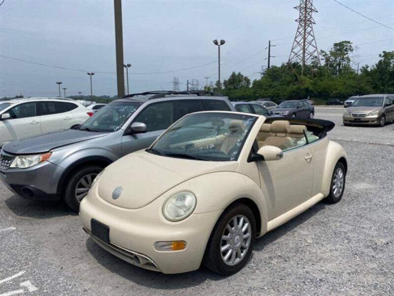 2005 Volkswagen New Beetle Convertible for sale at Jeffrey's Auto World Llc in Rockledge PA