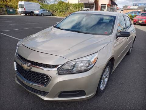 2014 Chevrolet Malibu for sale at MAGIC AUTO SALES in Little Ferry NJ