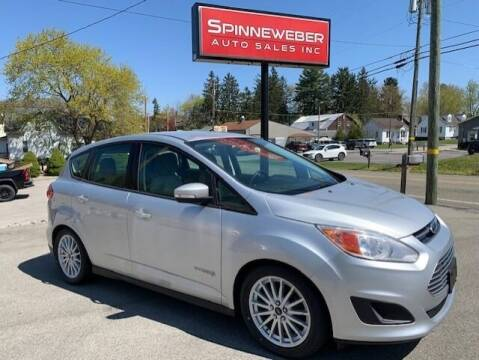 2013 Ford C-MAX Hybrid for sale at SPINNEWEBER AUTO SALES INC in Butler PA