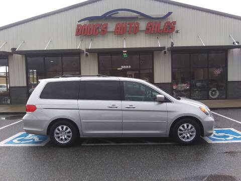 2009 Honda Odyssey for sale at DOUG'S AUTO SALES INC in Pleasant View TN