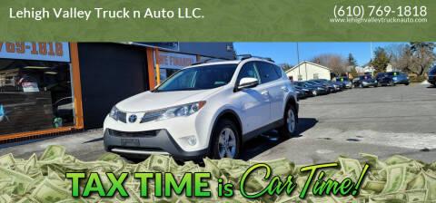 2013 Toyota RAV4 for sale at Lehigh Valley Truck n Auto LLC. in Schnecksville PA