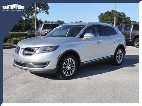 2017 Lincoln MKX for sale at BARTOW FORD CO. in Bartow FL