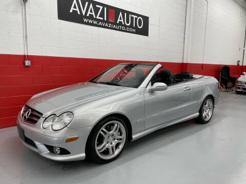 2009 Mercedes-Benz CLK for sale at AVAZI AUTO GROUP LLC in Gaithersburg MD