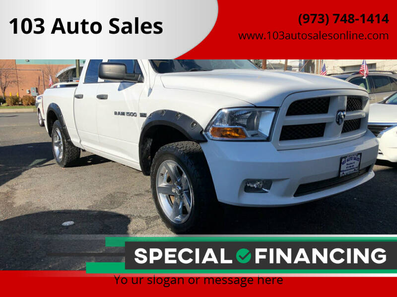 2012 RAM Ram Pickup 1500 for sale at 103 Auto Sales in Bloomfield NJ