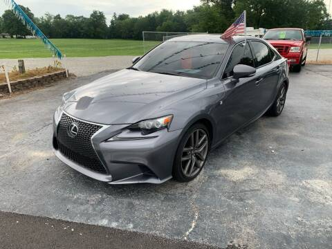2015 Lexus IS 350 for sale at Ultimate Auto Sales in Crown Point IN