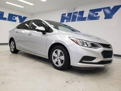 2017 Chevrolet Cruze for sale at HILEY MAZDA VOLKSWAGEN of ARLINGTON in Arlington TX