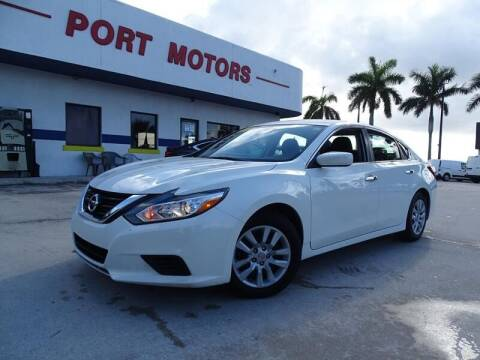 2018 Nissan Altima for sale at Port Motors in West Palm Beach FL