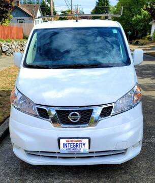2015 Nissan NV200 for sale at INTEGRITY AUTO SALES LLC in Seattle WA