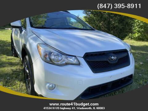 2013 Subaru XV Crosstrek for sale at Route 41 Budget Auto in Wadsworth IL