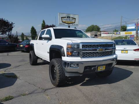 2015 Chevrolet Silverado 1500 for sale at CarSmart Auto Group in Murray UT