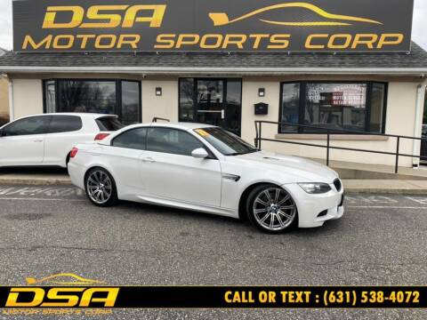 2011 BMW M3 for sale at DSA Motor Sports Corp in Commack NY