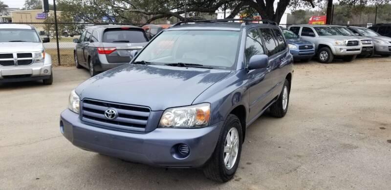 2006 Toyota Highlander for sale at STX Auto Group in San Antonio TX