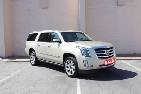 2015 Cadillac Escalade ESV for sale at El Patron Trucks in Norcross GA