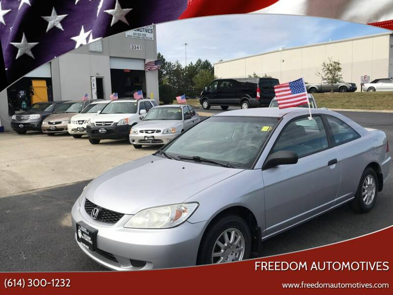 2004 Honda Civic for sale at Freedom Automotives in Grove City OH