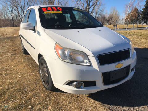 2010 Chevrolet Aveo for sale at BELOW BOOK AUTO SALES in Idaho Falls ID