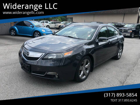 2012 Acura TL for sale at Widerange LLC in Greenwood IN
