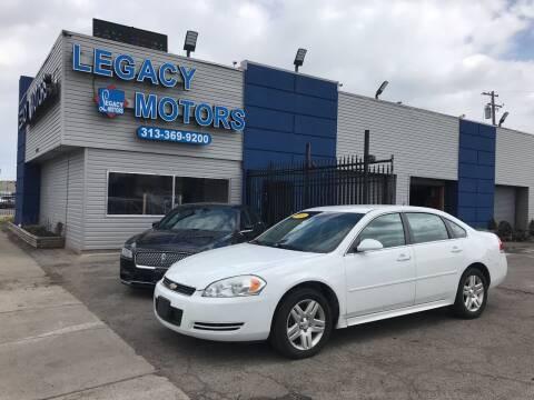 2013 Chevrolet Impala for sale at Legacy Motors in Detroit MI