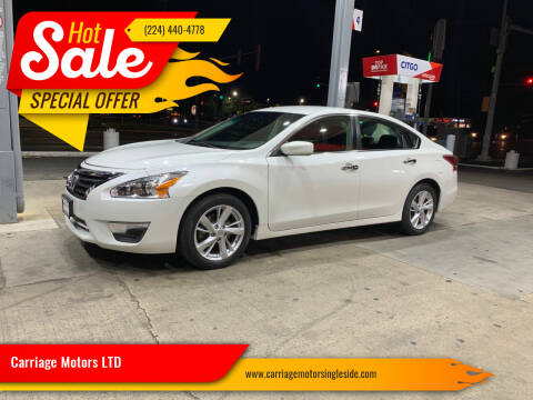 2013 Nissan Altima for sale at Carriage Motors LTD in Ingleside IL