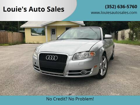2007 Audi A4 for sale at Louie's Auto Sales in Leesburg FL