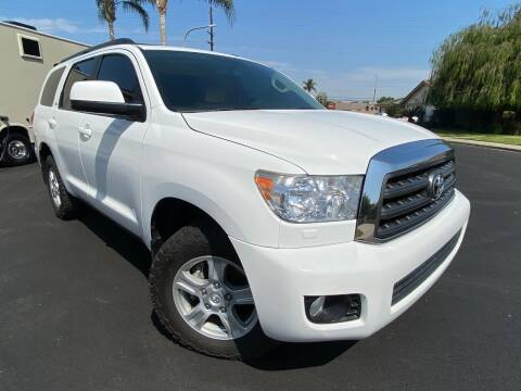 2011 Toyota Sequoia for sale at SoCal Motors in Los Alamitos CA