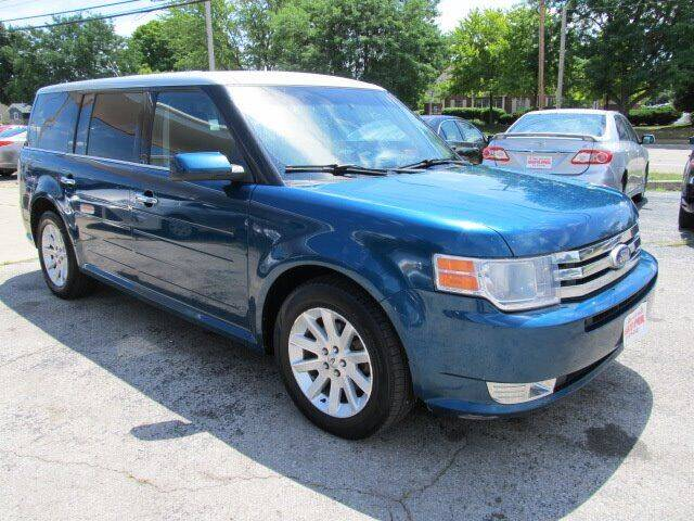 2011 Ford Flex for sale at St. Mary Auto Sales in Hilliard OH