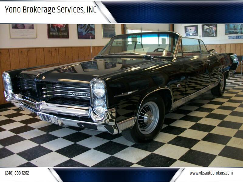 1964 Pontiac Bonneville for sale at Yono Brokerage Services, INC in Farmington MI
