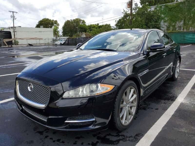 2012 Jaguar XJ for sale at Eden Cars Inc in Hollywood FL