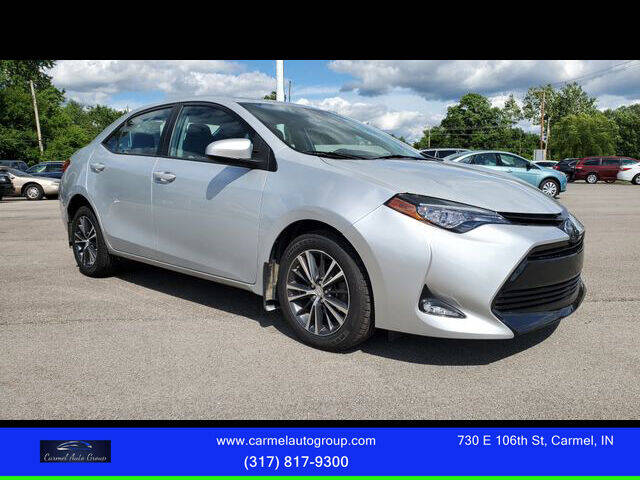 2017 Toyota Corolla for sale at Carmel Auto Group in Indianapolis IN