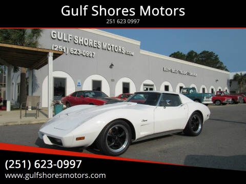 1974 Chevrolet Corvette for sale at Gulf Shores Motors in Gulf Shores AL